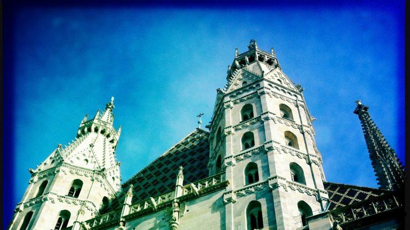 Вена, Австрия, март 2012 года, часть первая