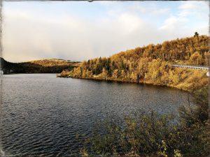 На берегу озера где-то между Видяево и Мурманском, сентябрь 2019 года